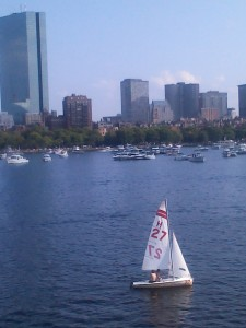 Boston sail boating