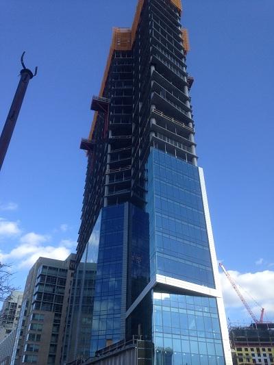 Brand-new luxury housing rises around the swanky VERB.